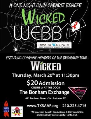 Wicked WEBB party 2014 flyer