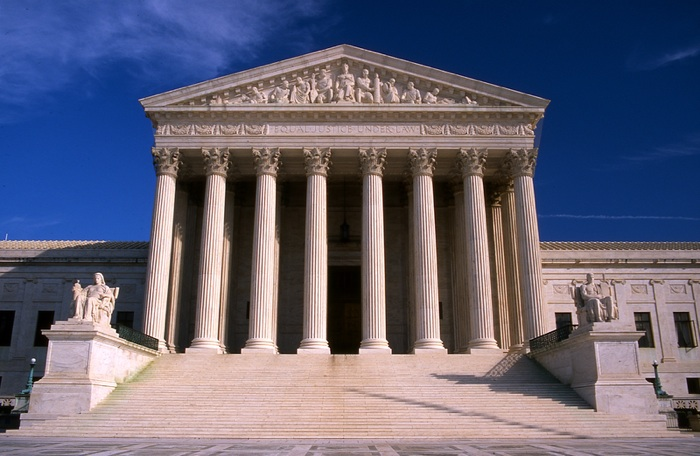 The United States Supreme Court Building. Public domain photo.