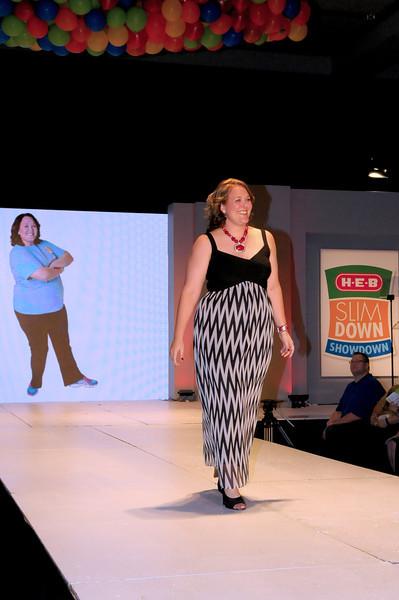 Marie Pechacek from Laguna Vista, community member winner Slim Down Showdown $10,000 prize. Photo courtesy of H-E-B.