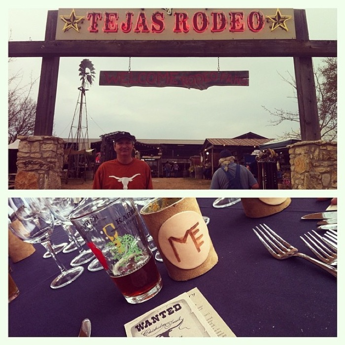 Mesquite Field was featured at the Chef Cooperative dinner at the Tejas Rodeo, creating a true San Antonio Experience. Photo courtesy of Mesquite Field Farms.