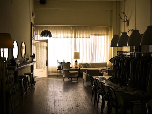 The Richter Co. parlor. Photo by Robert Pecina.