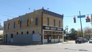 The Wong Grocery story on South Flores St. is now leasing commercial office space.