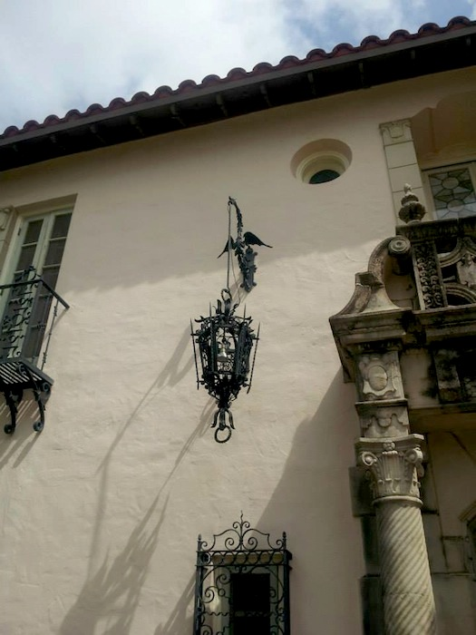 Wrought Ironwork at the entrance (photo by Peter Holland)