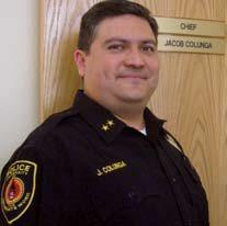 UIW Chief of Police Jacob Colunga