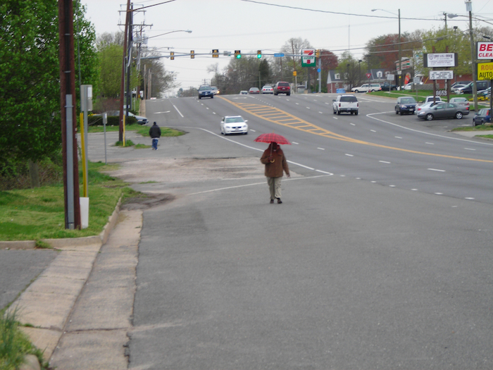 Many pedestrian deaths are preventable with safer design and better planning. Photo by Cheryl Cort.