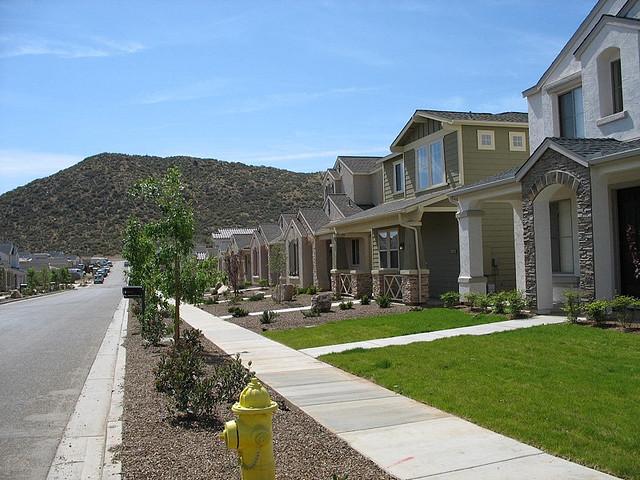 Suburban sprawl. Photo via Flickr user Doratagold.