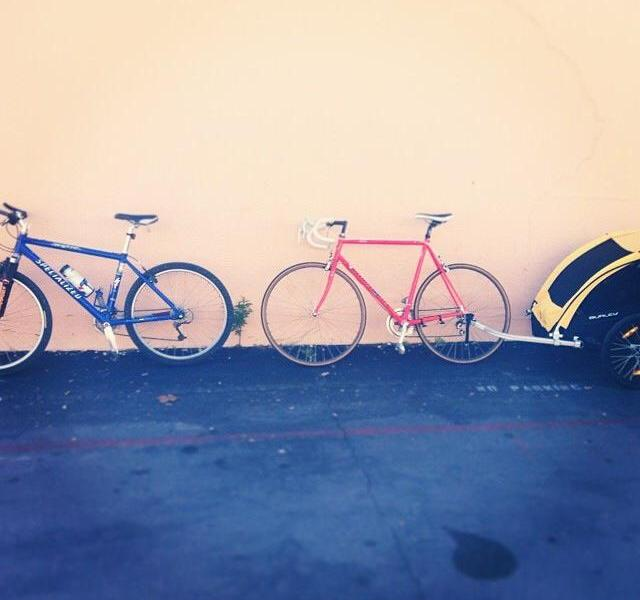 Bikes are becoming an urban staple in San Antonio. Photo by Kari Denise.