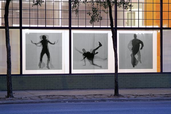 PARALLAX at Artpace Window Works (2009). Photo courtesy Stuart Allen.