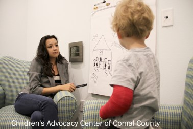 The Children's Advocacy Center of Comal County has received $150,000 in grants from the Kronkosky Foundation to help fund comprehensive services provided in Comal  County to families of children who have been sexually abused. Photo courtesy of the Kronkosky Foundation.