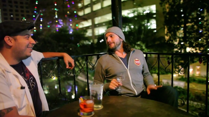 """Screenshot from the film, """"Cocktail Culture on the Rise."""""""