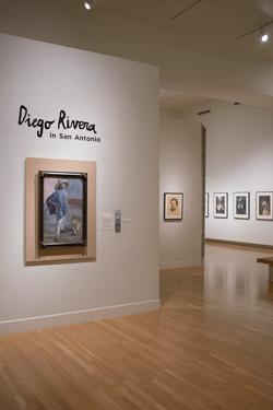 The Diego Rivera exhibit at SAMA. Courtesy photo.