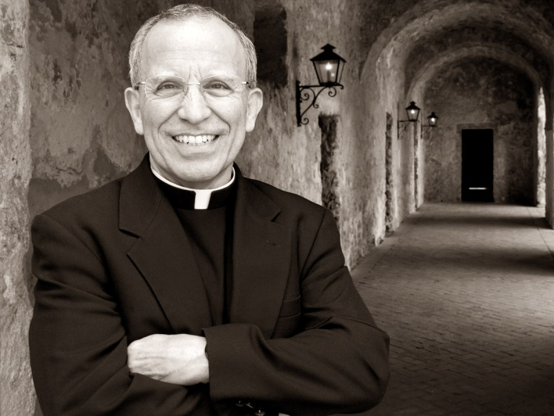 Fr. David is Director of the Old Spanish Missions for the Archdiocese of San Antonio and Administrator of Mission Concepción Parish. Photo by Al Rendon.