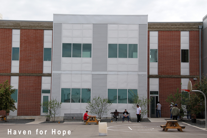 Haven for Hope received a $200,000 Kronkosky Foundation grant in 2011. Photo courtesy of the Kronkosky Foundation.