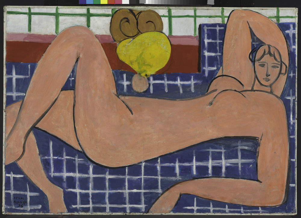 Large Reclining Nude by Henri Matisse. Image courtesy of San Antonio Museum of Art © 2014 Succession H. Matisse / Artists Rights Society (ARS), New York