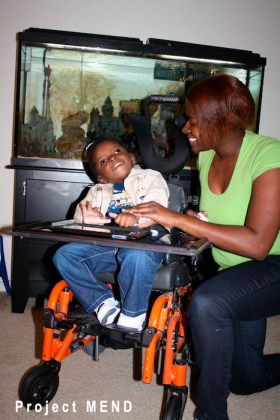 PROJECT Mend has received $100,000 since 2011 from the Kronkosky Foundation to help fund a program to provide medical equipment and other assistive devices to low income persons with disabilities. Photo courtesy of the Kronkosky Foundation.