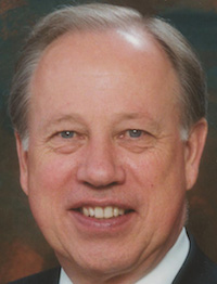 Palmer Moe, outgoing managing director of the Kronkosky Charitable Foundation.