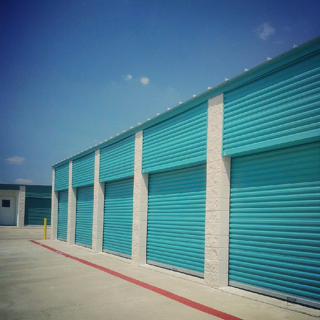 Storage units via Flickr user Chealsea Gomez.