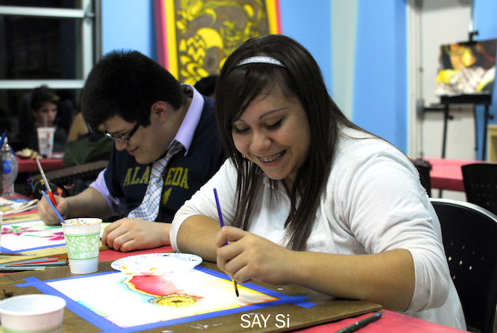 SAY Sí, an arts and media after school education nonprofit, has recieved a grant from the Kronkosky Foundation almost every year since 2004 in varying amounts. Photo courtesy of the Kronkosky Foundation.