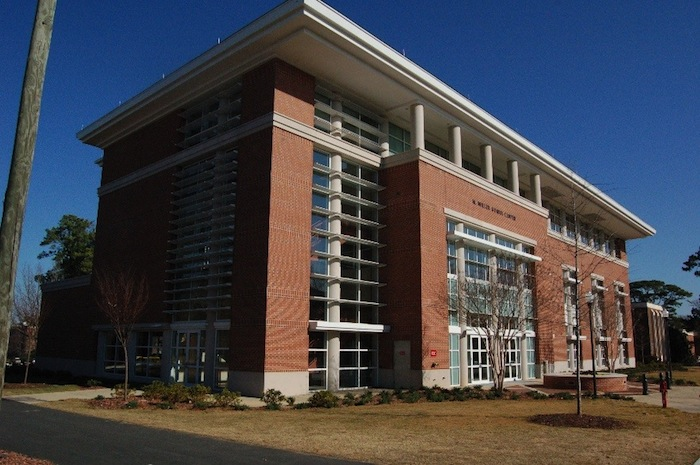 Sustainable design: LEED Gold certified building in Auburn, Alabama. Photo by John Murphy.