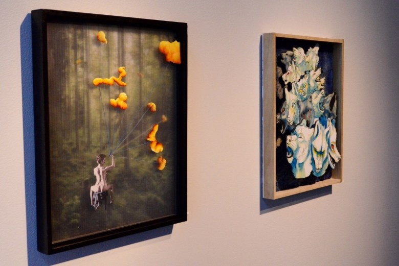 Teen Art Intensive. Southwest School of Art All-School Exhibition 2014. Photo by Page Graham.