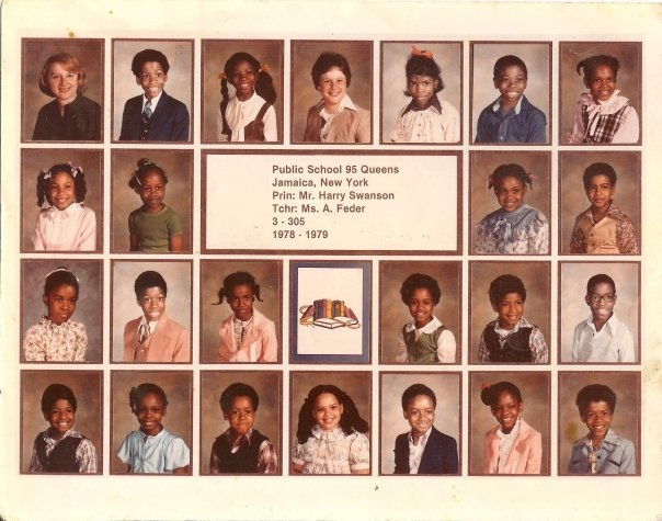 Ms. A. Feder's  class of 1978-79 at Public School 95. Mayor Ivy Taylor is _____-