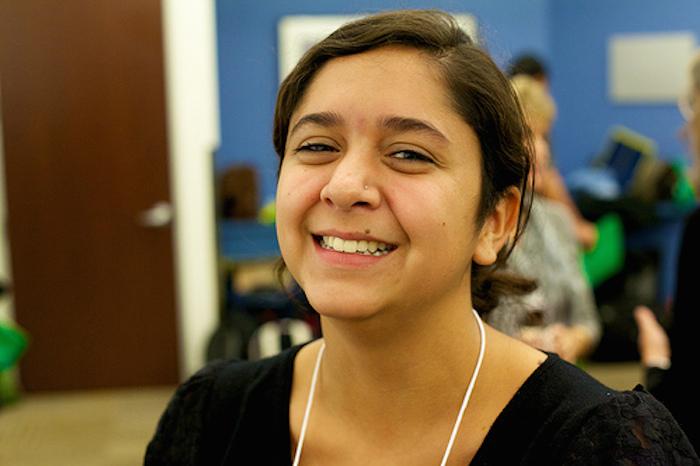 St. Mary's University graduate and AmeriCorps Vista member Mariah Noelle Villarreal. Courtesy photo.