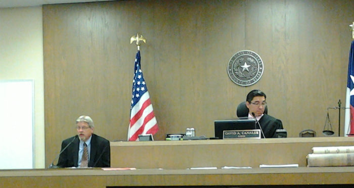Malcolm Matthews testifies on the Parks and Recreation Department's role in the BudCo property exhange during his time as director. Photo by Adrian Ramirez.