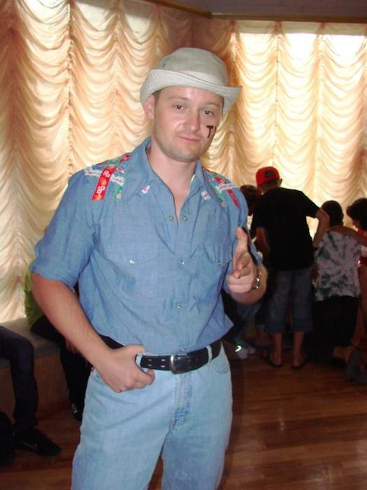 Pasha, the Ukrainian who is most hankerin' to be a Texan. Photo courtesy of Adam Tutor.