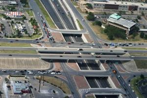 The 281/1604 Hwy. interchange. Alamo Regional Mobility Authority.