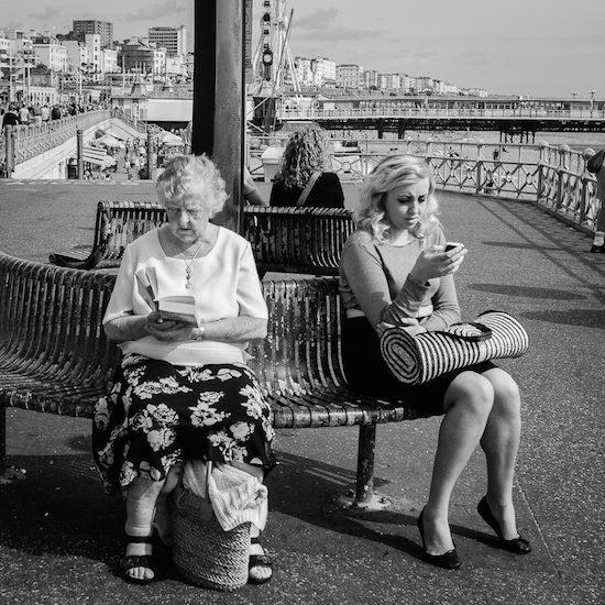 Two generations. Photo by Flickr user Darren Baldwin.
