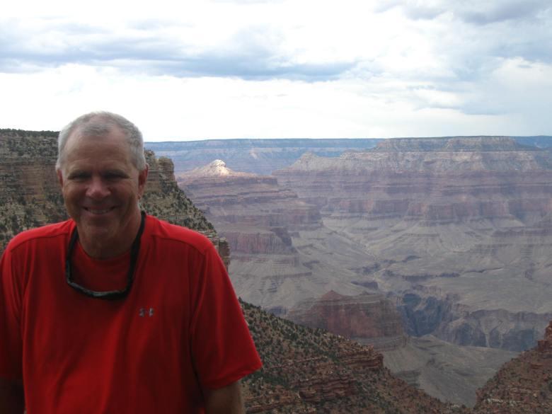 Mike Moran at the Grand Canyon. Courtesy photo.