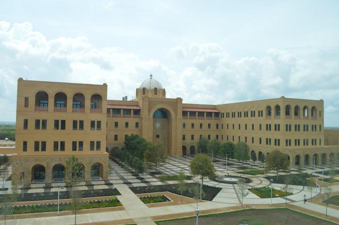 The new Central Academic Building at Texas A&M University-San Antonio. Photo courtesy of A&M-SA.