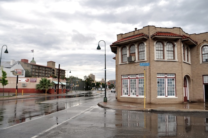The former Fire Station No. 7 at 604 S. Alamo St. May 13, 2014. Photo by Iris Dimmick.