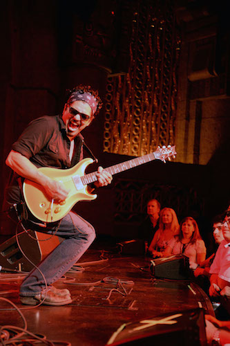 Ruben V at the Aztec Theatre, July 12, 2014. Photo by Annette Crawford.
