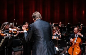 The San Antonio Symphony performs at the Tobin Center. Photo by Scott Ball.