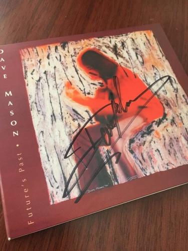 An autographed CD that Weinkrantz procured at the concert. Photo by Alan Weinkrantz.