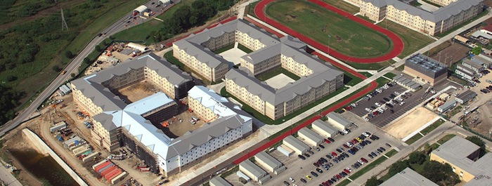 Medical Training Dormitories at Fort Sam Houston. Photo courtesy of Clayton Commercial Buildings.