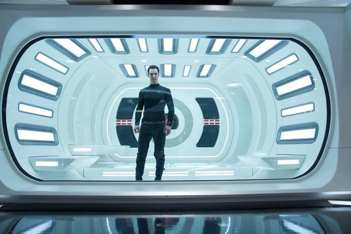"A screenshot from the film, ""Star Trek: Into Darkness."""