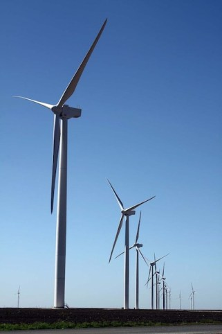 Los Vientos wind project in Hidalgo and Willacy Counties. CPS Energy and Austin Energy are the off-takers for these projects. Photo courtesy North American Development Bank.