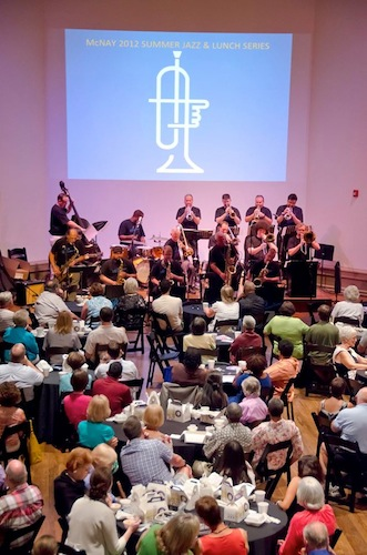 A recent McNay Summer Jazz and Lunch event. Courtesy photo.
