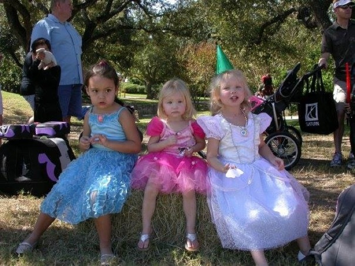 Kids pose in costumes at last year's Bootanica! event at the San Antonio Botanical Gardens. Courtesy photo