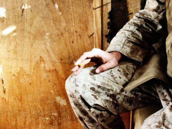 A smoking soldier. Photo by Flickr user Jayel Aheram. https://www.flickr.com/photos/aheram/1044759653/in/photolist-2AjEDt-fycwoN-ezVTmN-4avezP-gCx98-6MsbWQ-pPjgY-4U48mS-5HJdyV-4nbpxe-o9bVDx-948wrL-o3Uwcq-8tiBjM-8UVZsN-mh363k-dV4fPY-9JUAhM-bBUgK2-5AdQYx-4KbddE-ffZHWc-4ntqiQ-8R8Mf8-p38aTW-7PywnG-erjP3f-9pGWse-eRLxH1-gmTtu-fsA5BG-hPbkP-jeDZW9-ayaDgU-dseyCX-ih874o-ih7JBK-7bfATD-agXYKs-4dzSTz-4PM6Y4-4aveyn-9T4dXy-zmmjC-zmmHz-jAs3Vo-dMswAE-4xSCJ1-CsE2X-9DhTnF