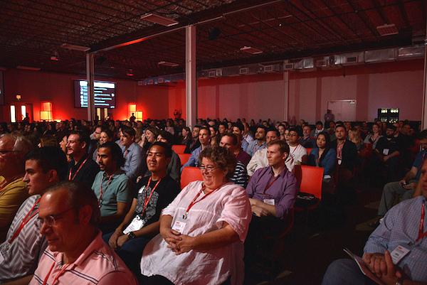 2013 TEDxSanAntonio audience members. Courtesy photo.