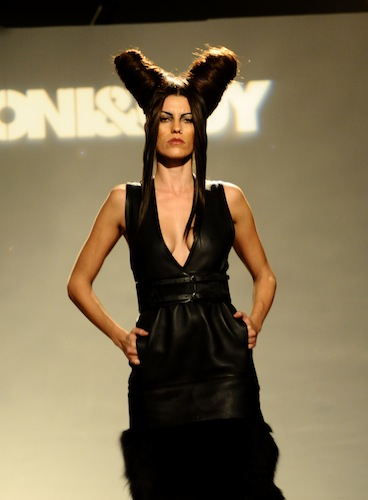 TONI&GUY La Cantera made their Fashion Week San Antonio debut at the Classics Re-Done runway show at the Alameda Museum of Art. Photo by Kristian Jaime.
