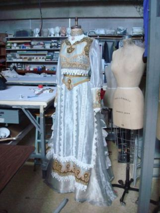 Margaret Mitchell, 2010 Robert L.B. Tobin Award for Costume Design. Photo courtesy Artist Foundation.