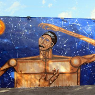 Date Farmers' 2011 installation for the Wynwood Walls project in Miami. Courtesy photo.