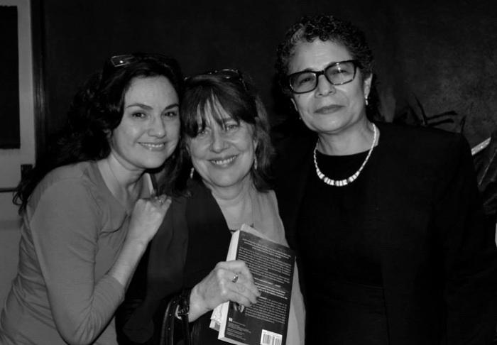 Pictured fom left to right: Natalia Trevino, Gemini Ink executive director Sheila Black, and Helena Maria Viramontes. Courtesy photo