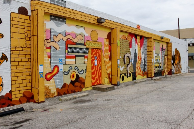 Mural by Basco Vazko. Photo by Page Graham.