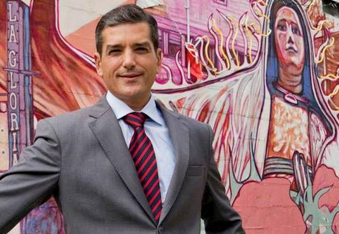 Mike Villarreal. Image courtesy of Mike Villarreal for Mayor of San Antonio's Facebook page.