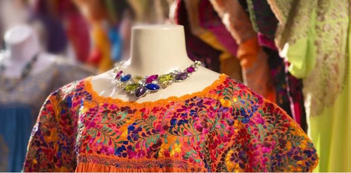 Jewelry and fashion at The Market Square. Photo courtesy of The Department of Culture and Creative Development